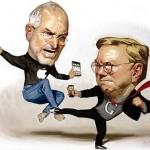 Microsoft, Google y Apple, la batalla de los 3 grandes.